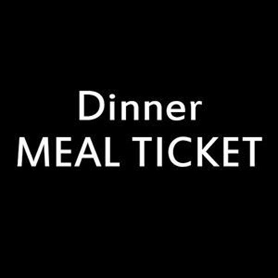 Picture of 100+ Dinner Dining Meal Tickets