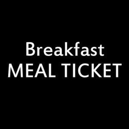 Picture of Breakfast Dining Meal Ticket